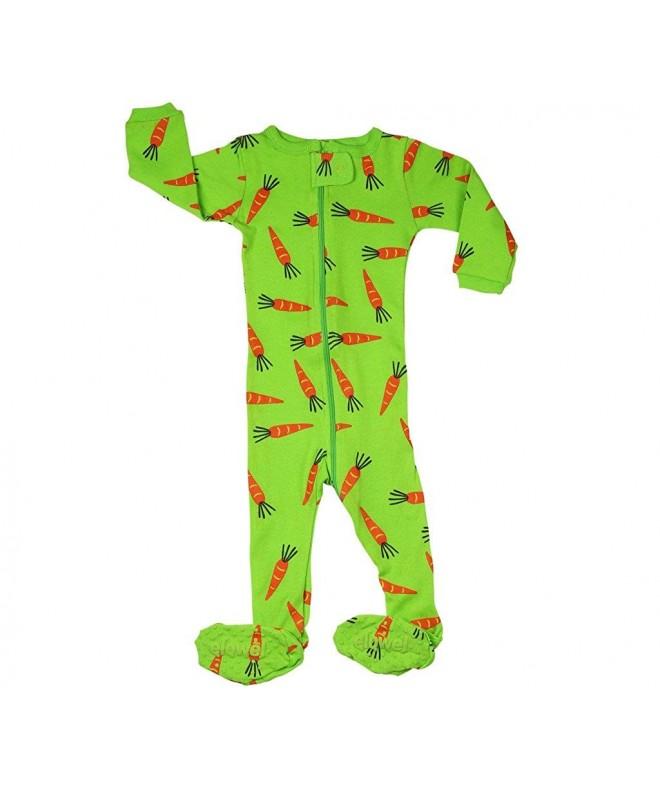 Elowel Footed Carrots Sleeper 6M 5Years