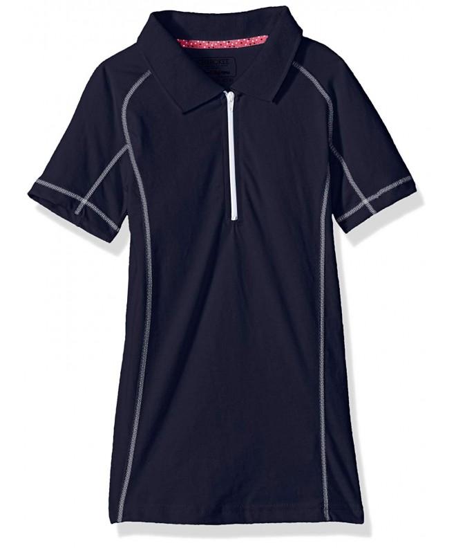 Cherokee Girls Uniform Jersey Polo Plaquet