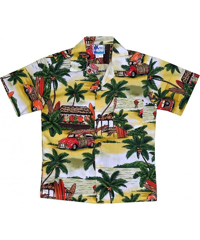RJC Aloha Shirt Shack Hawaiian