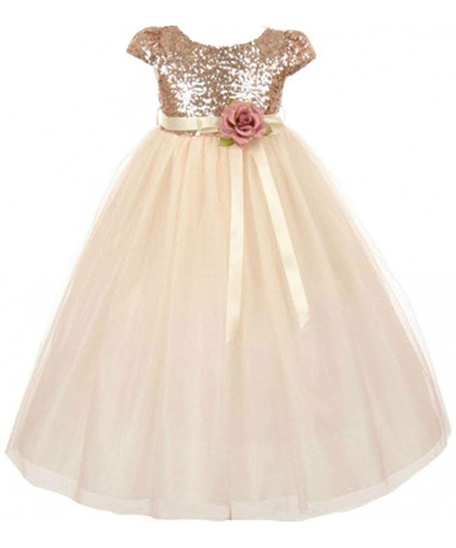 AkiDress Classic Sequins Bodice Shinny