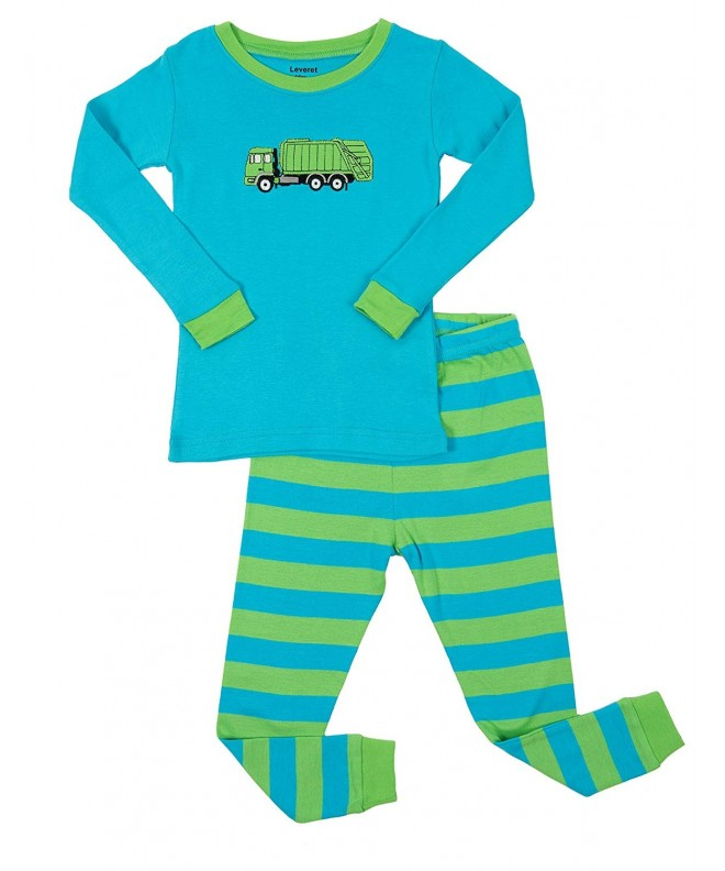 Leveret Toddler Pajamas Garbage Months 14