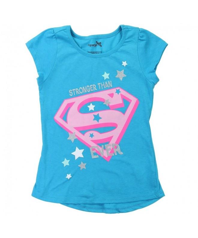 Comics Little Girls Supergirl Glitter
