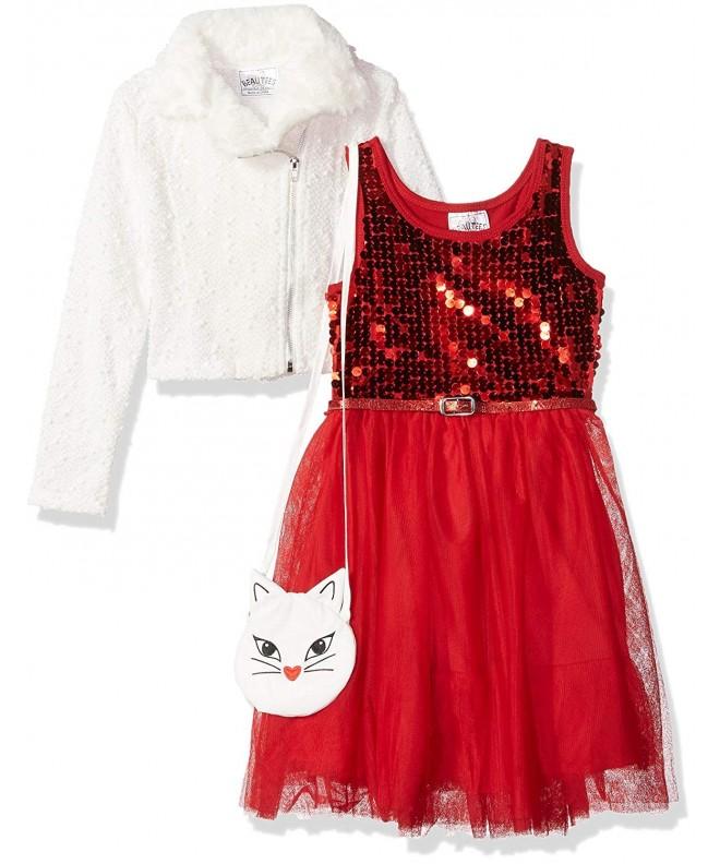 Beautees Girls Little Jacket Dress