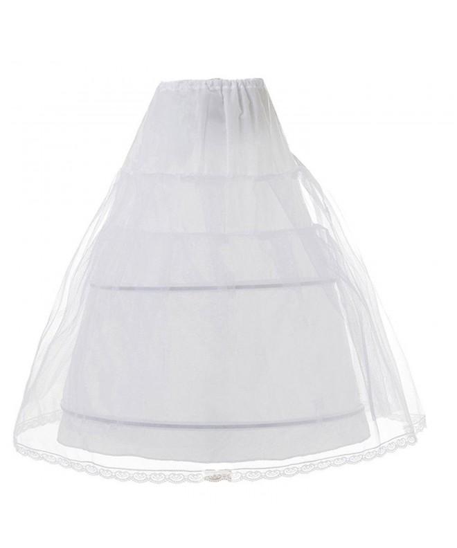 Edress Layers Wedding Petticoat Underskirt