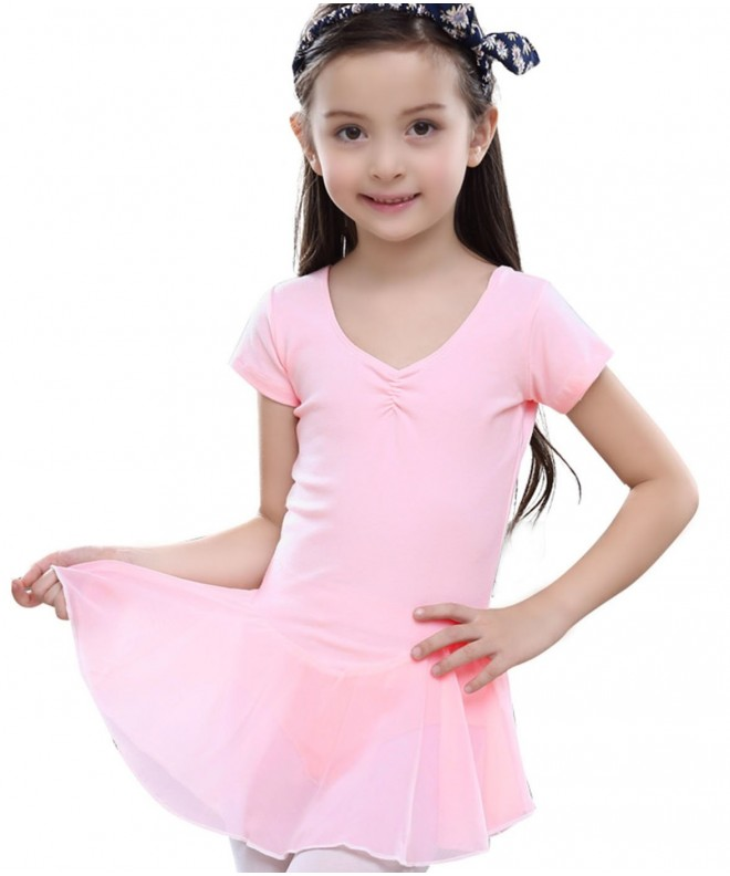 FEOYA Gymnastics Skirted Ballerina Dancewear