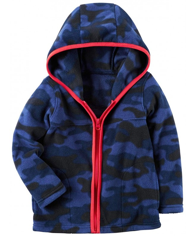 Carters Full Zip Hooded Fleece Jacket