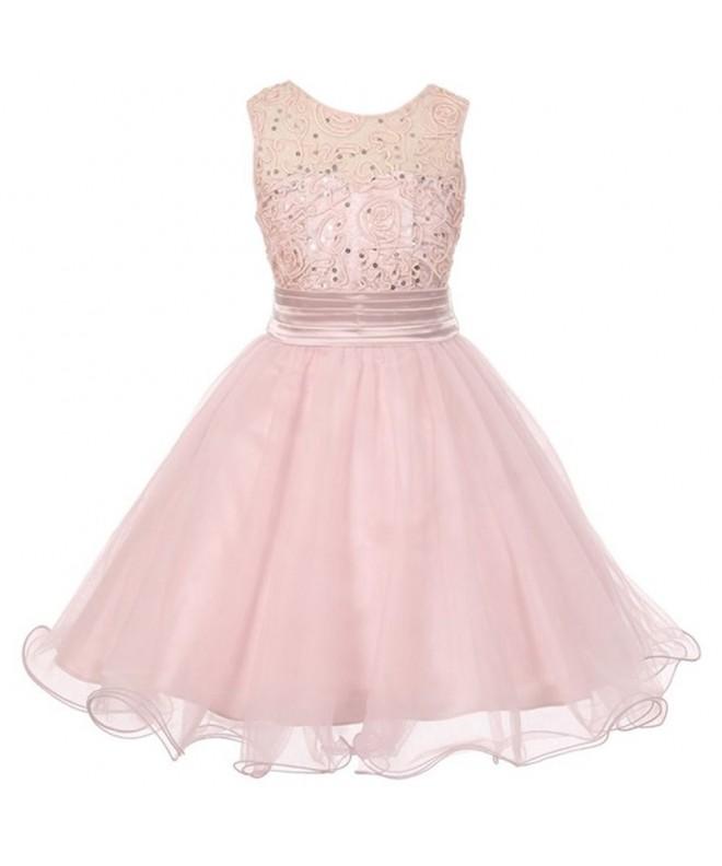 iGirlDress Little Dazzling Sequin Dresses