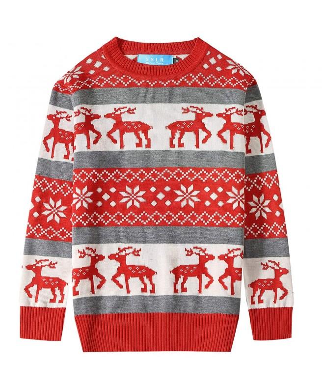 SSLR Reindeer Pullover Crewneck Christmas