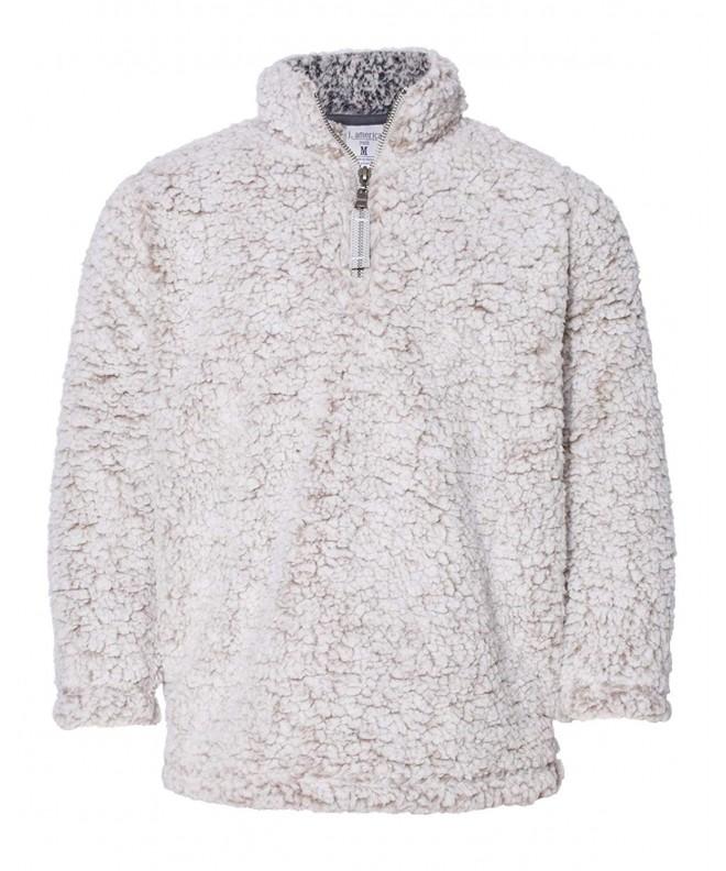 J America Sherpa Quarter Zip Pullover