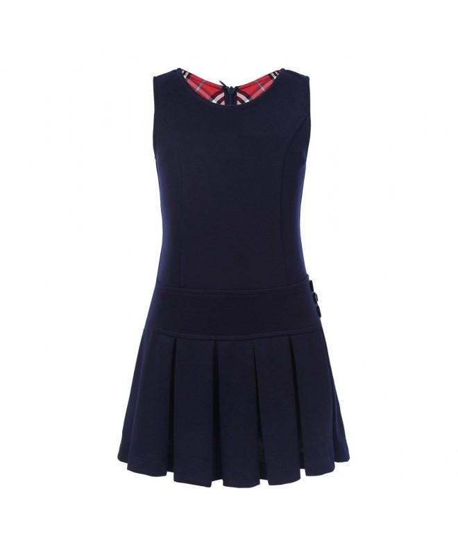 YiZYiF Stretchy Pleated Durable Uniform
