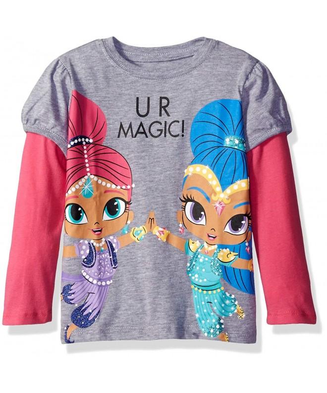 Nickelodeon Toddler Shimmer T Shirt Heather