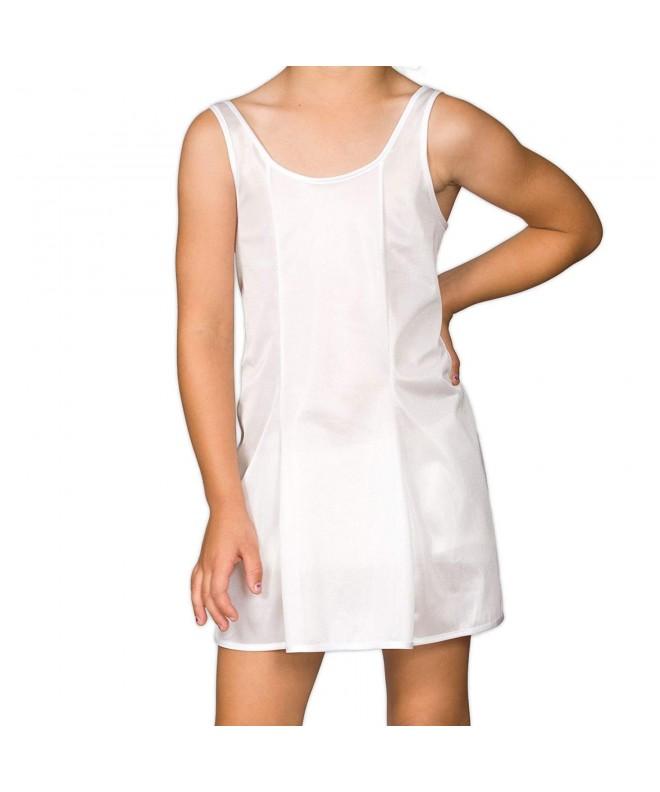 Collections Girls White Sleek Nylon