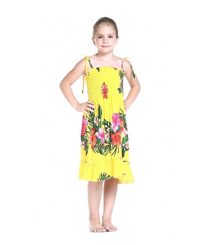 Yellow Floral Hawaiian Various Styles