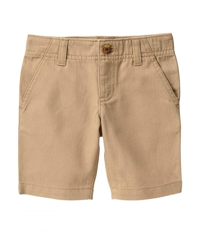 Crazy Boys Flat Front Short