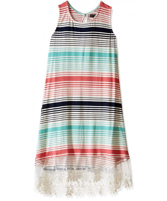 As Wish Girls Striped Dress