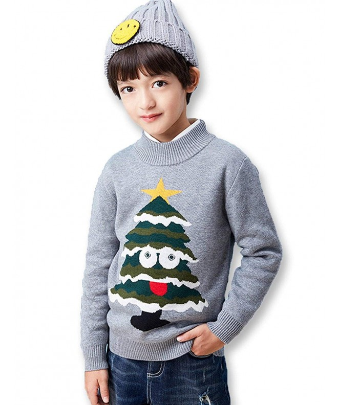 BYCR Smile Christmas Pullover Sweater