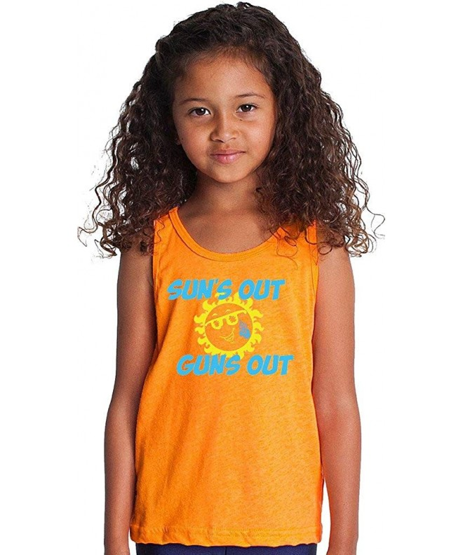 SoRock Kids Suns Tank Orange