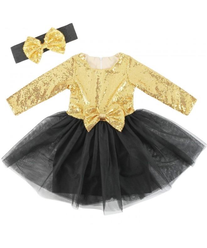 Cilucu Flower Dresses Sequin Birthday