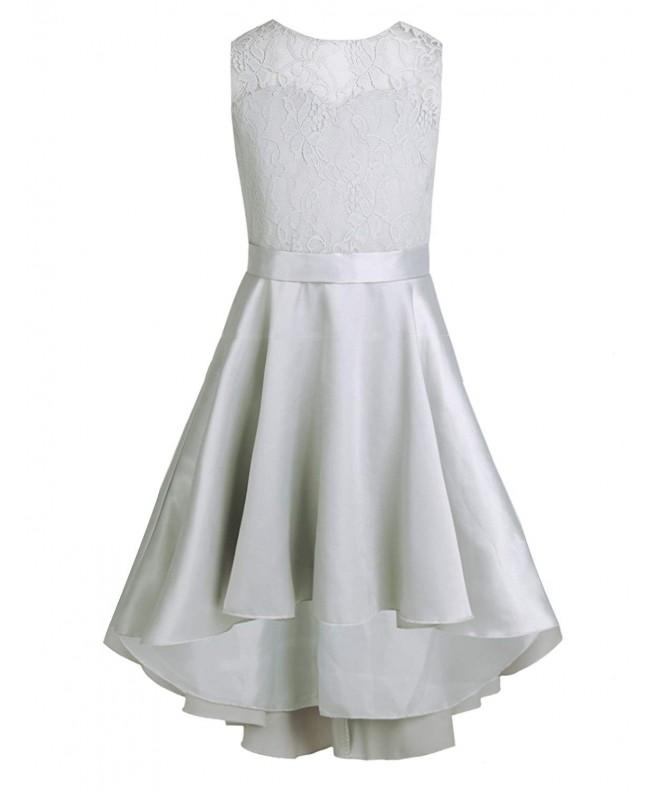 YiZYiF Girls Princess Wedding V Back