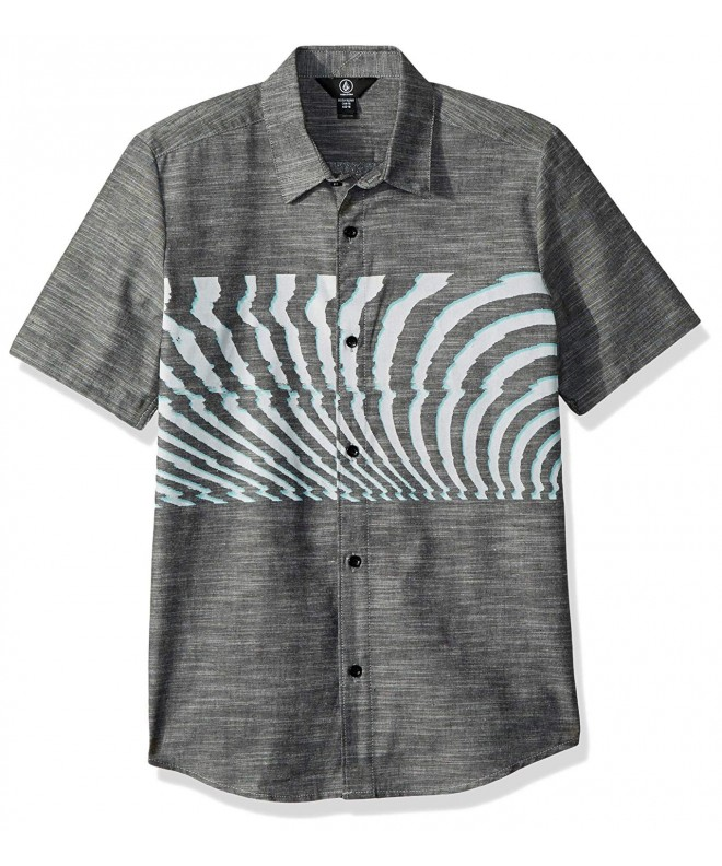 Volcom Blocked Short Sleeve Button