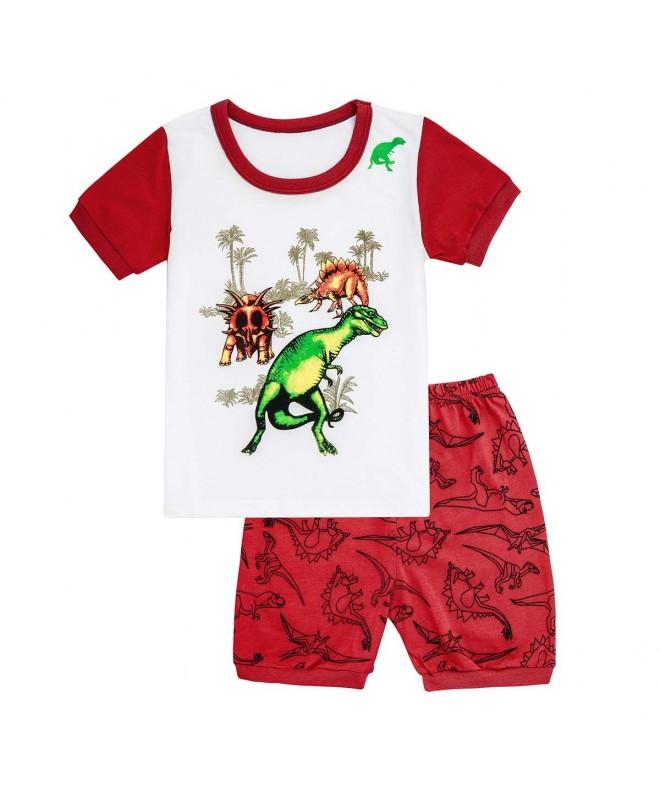 Qtake Fashion Children Sleepwear Dinosaur