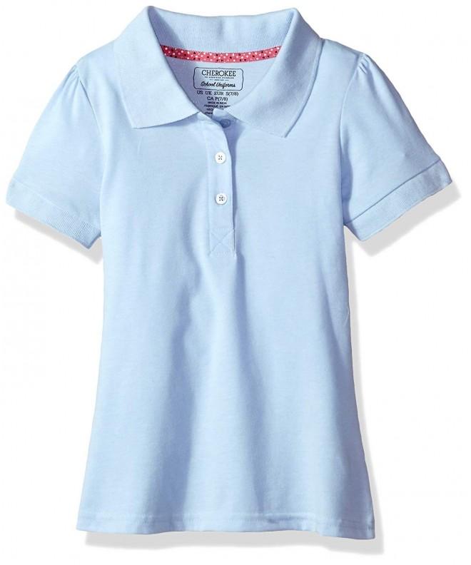 Cherokee Girls Uniform Short Sleeve Jersey