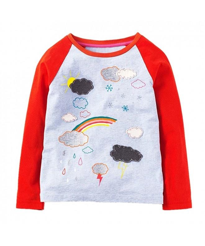 2Bunnies Rainbow Printed Sleeve T Shirt