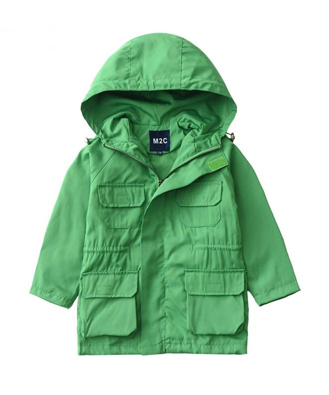 M2C Outdoor Hooded Windproof Trench