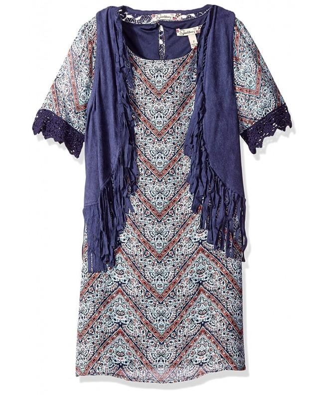 Speechless Girls Piece Chiffon Dress