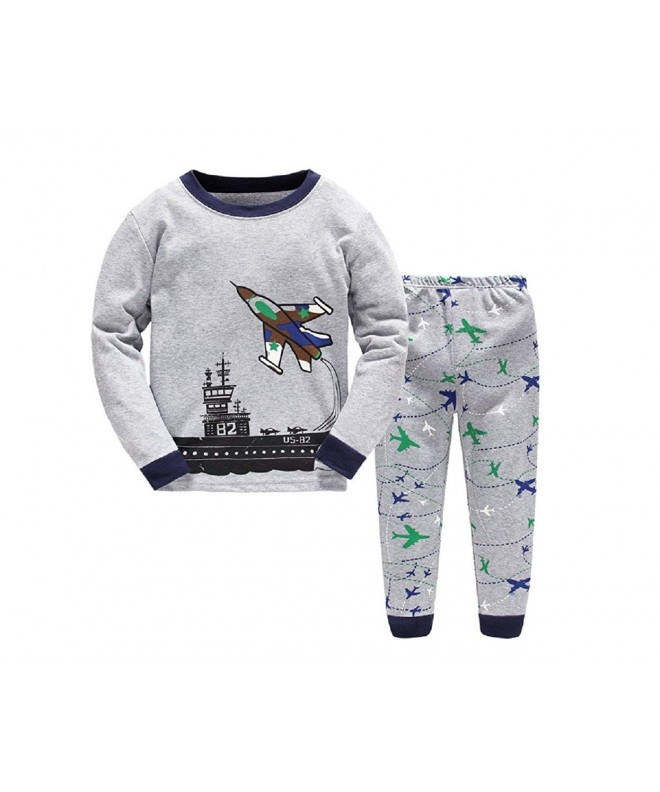 Masonanic Aircraft Pajamas Children Christmas