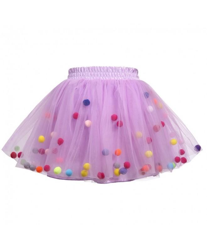 Meeyou Little Girls Layers Skirt