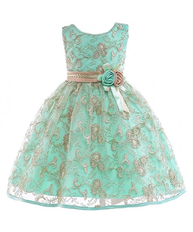 JIANLANPTT Flower Dresses Toddler Birthday