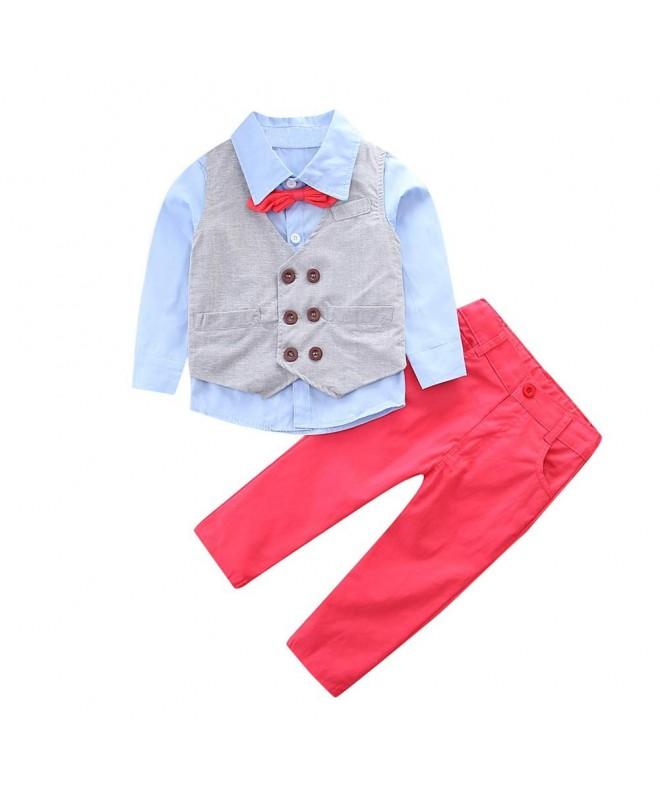 YDuoDuo Toddler Clothing Gentlement Dresswear