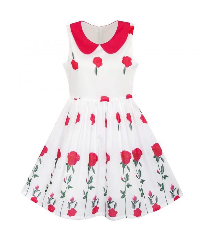 Sunny Fashion Flower Collar Princess