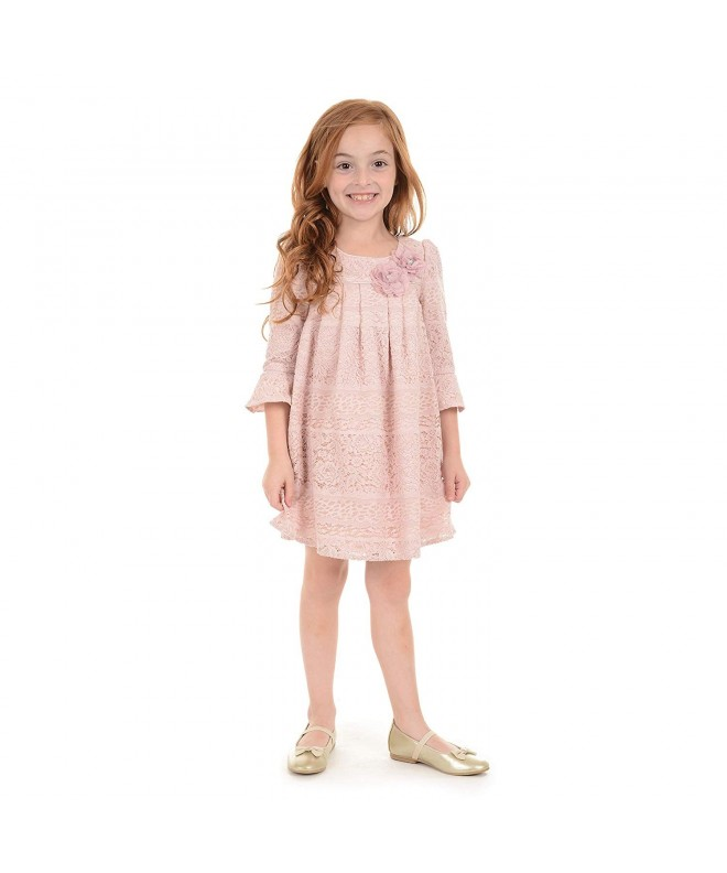 Laura Ashley Girls Sleeve Overlay