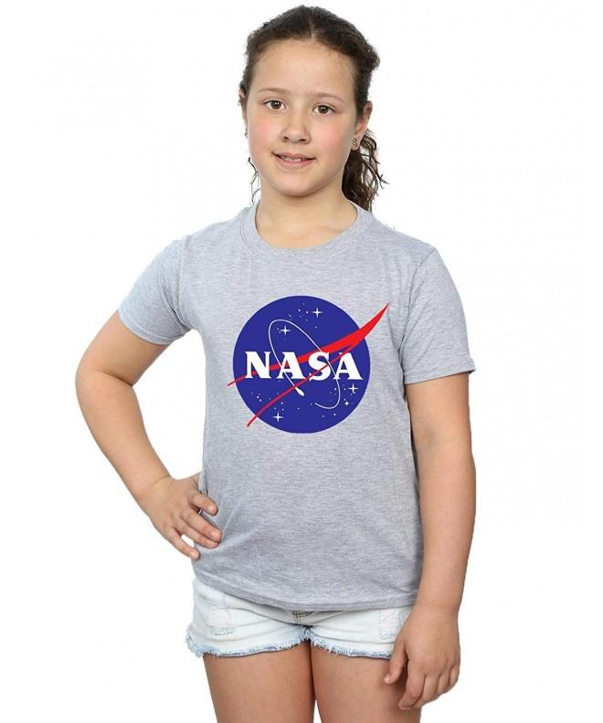NASA Girls Classic Insignia T Shirt