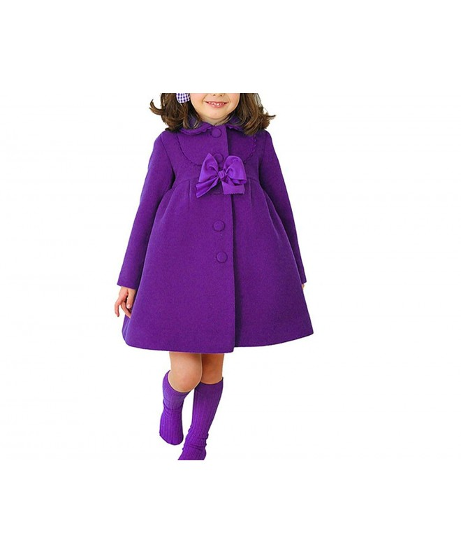 HBDesign Imitation Bowknot Overcoat Winter