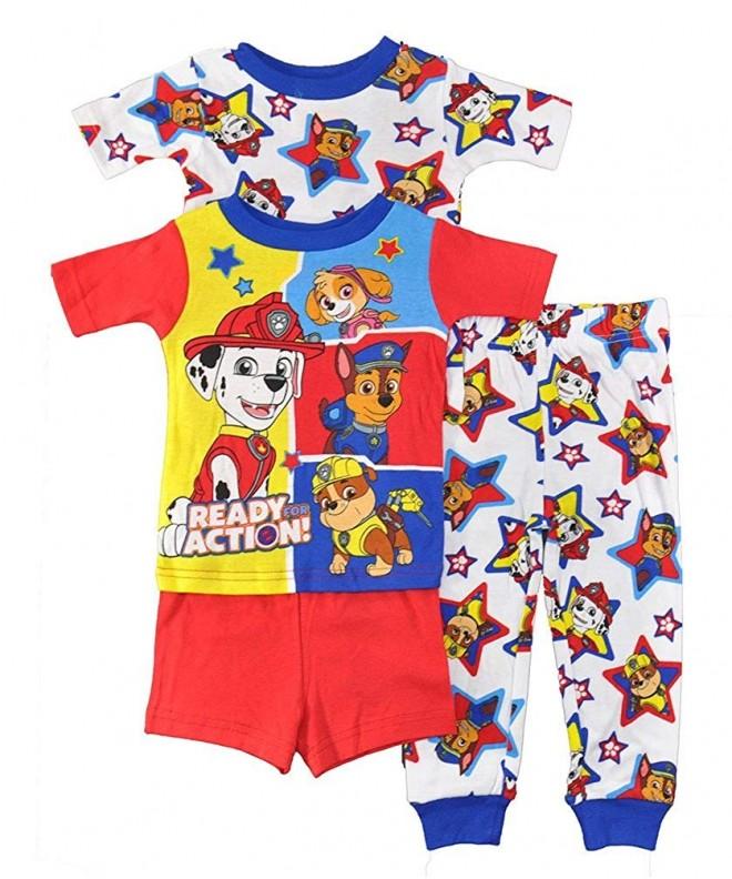 Nickelodeon Patrol 4 Piece Cotton Pajama