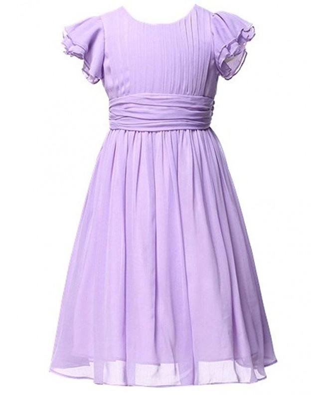 Happy Rose Chiffon Dresses Bridesmaid