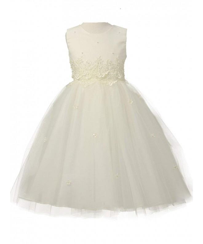Cinderella Tulle Flower Girl Dress