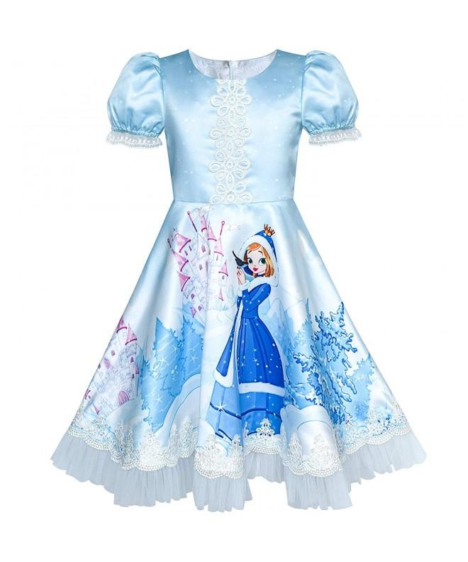 Sunny Fashion Cartoon Birthday Princess