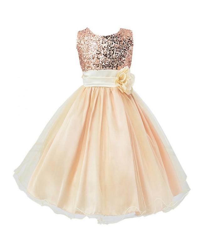 LPATTERN Princess Dresses Bowknot Sleeveless