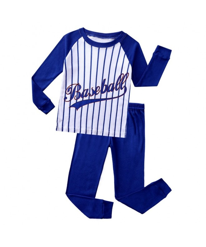 Pajamas Baseball Graphic Children Toddler