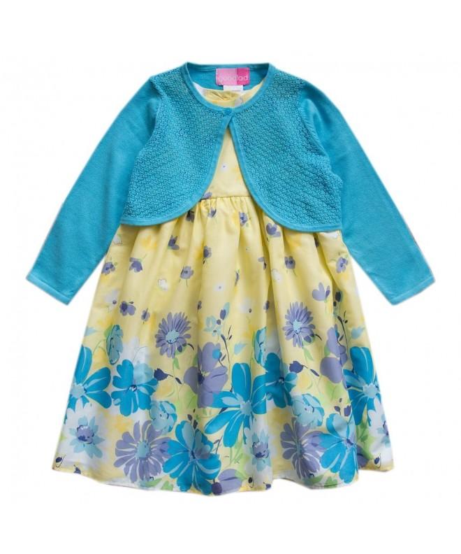 Good Lad Floral Dresses Colored