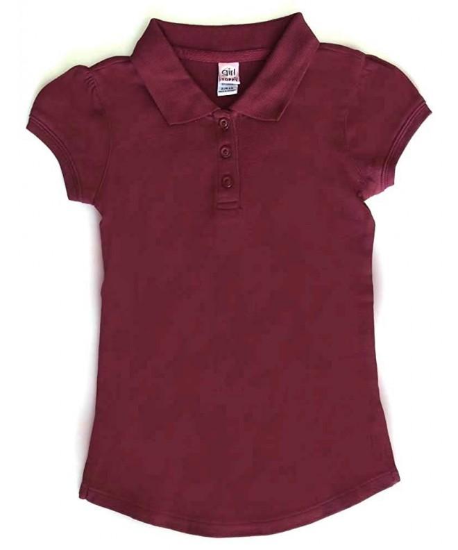 Girl School Uniforms Sleeve Stretch