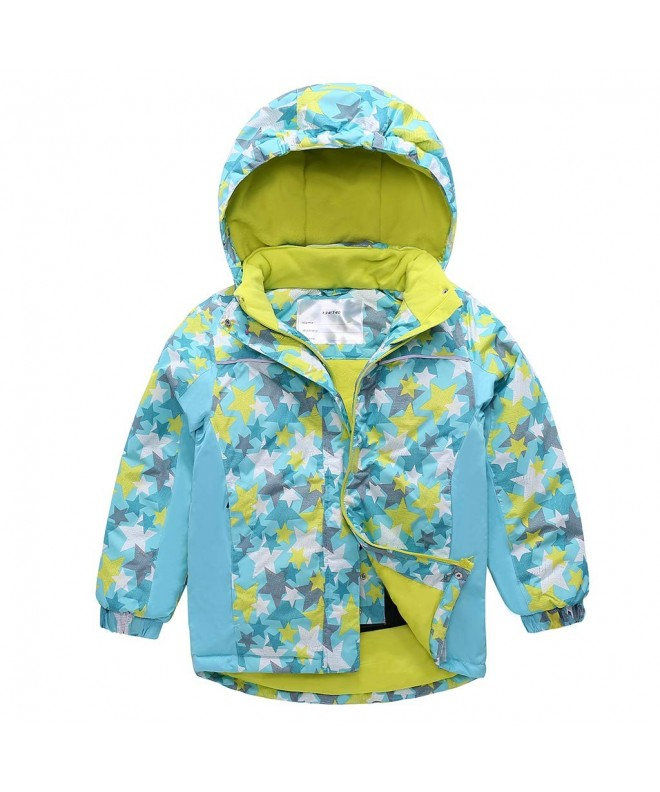 Jackets Hooded Snowsuit Waterproof Outerwear