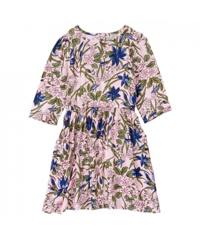 Crazy Girls Floral Woven Dress