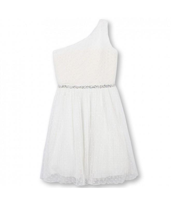 Speechless Girls Big Shoulder Dress