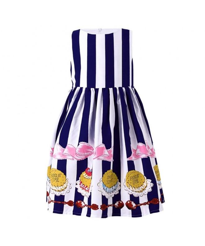 SMILING PINKER Striped Princess Sundress