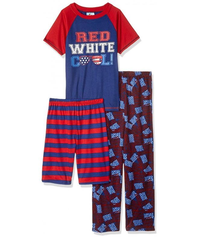 Baby Bunz Boys White Pajama